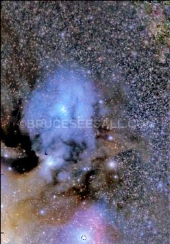 Ophiucus Nebula & Black Hole 4