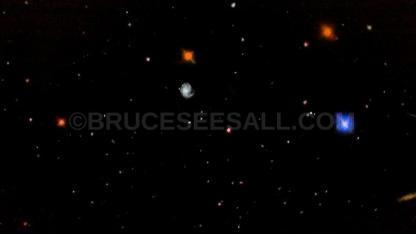 Spiraling Galaxies Between Leo And Virgo