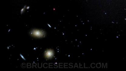 Spiraling Galaxies Beween Virgo And Leo 2