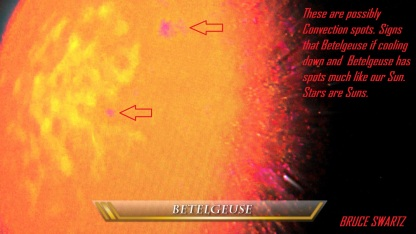 Betelgeuse Convection Spots