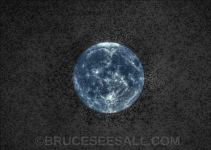 HDR FULL MOON August 7th 2017