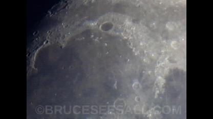 Sinus Iridum & Plato Crater