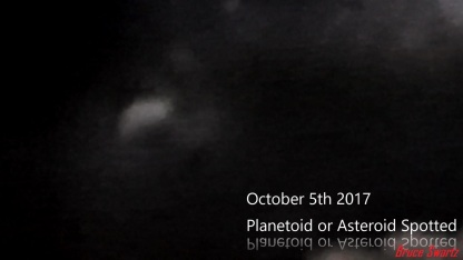 Asteroid October 5th 2017