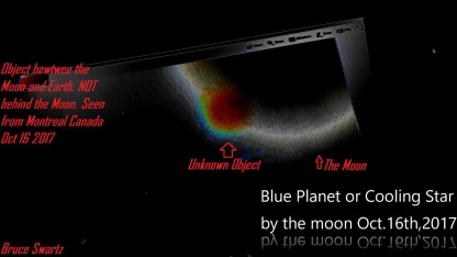 Celestial Object Bewteen Earth And Our Moon